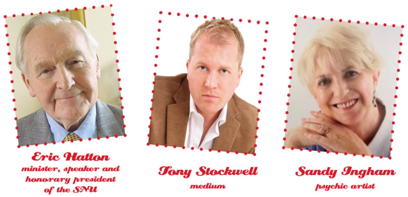 Eric Hatton  minister, speaker and honorary president 