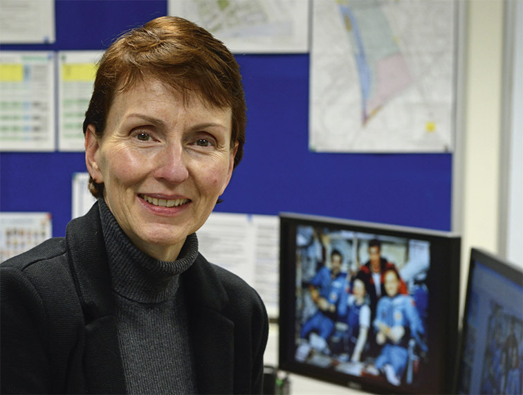 "DR HELEN SHARMAN: ""There are so many billions of stars out there in the universe that there must be all sorts of different forms of life."" (Photo: Anne-Katrin Purkiss)"