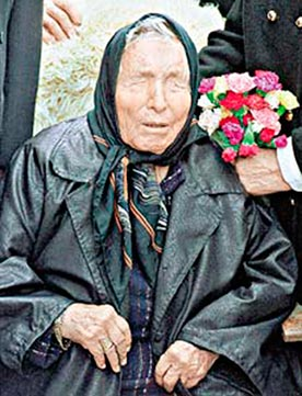 "Baba Vanga ""the Nostradamus of Bulgaria"