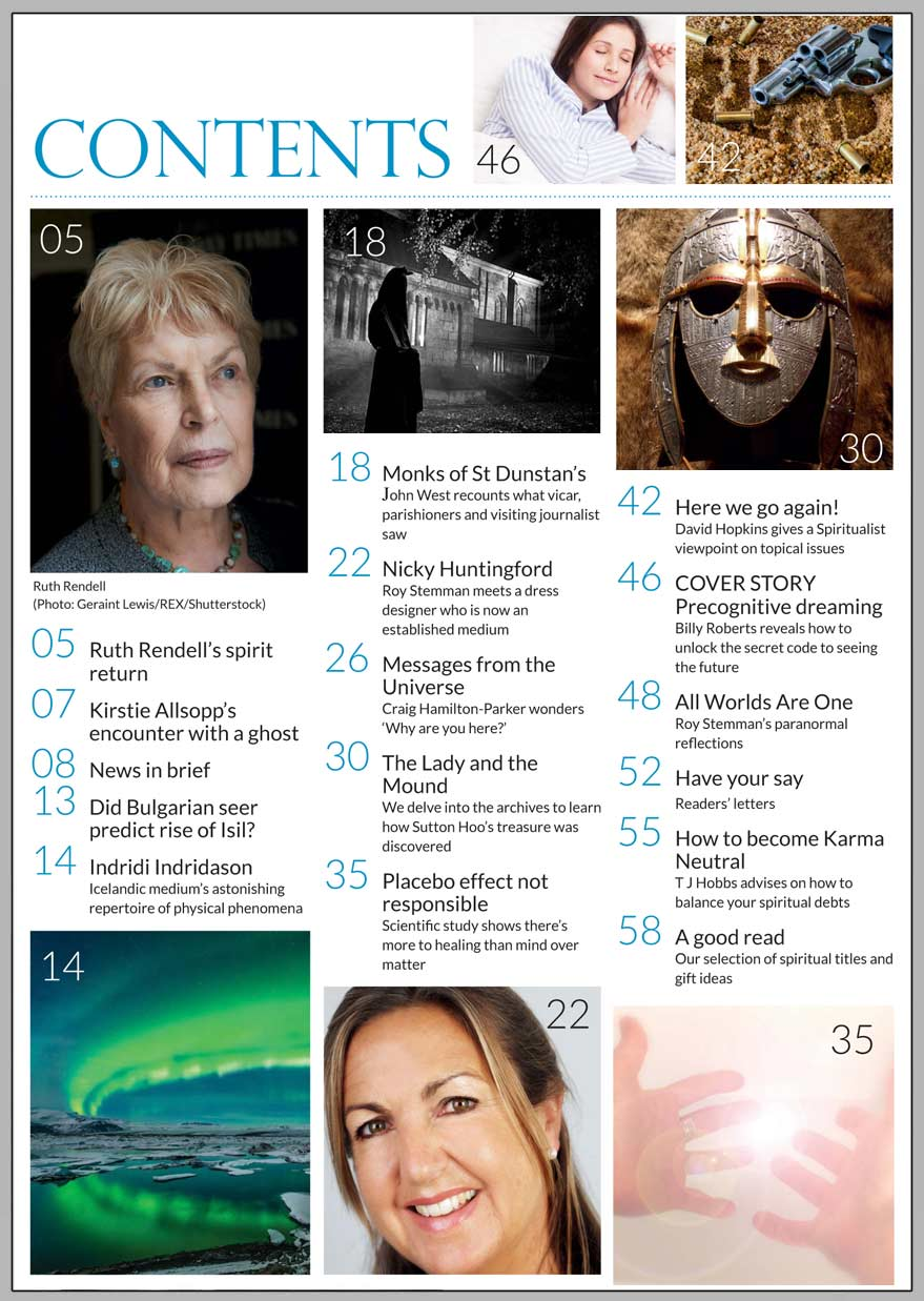 In this issue...  UNLOCK THE SECRET CODE   OF PRECOGNITIVE 