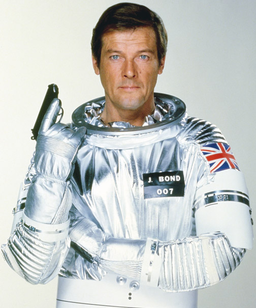 Roger Moore as James Bond in Moonraker (Photo: MGM/United Artists)