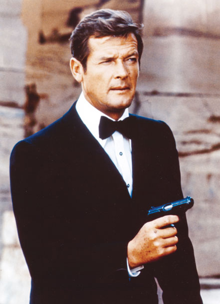 Roger Moore as James Bond in The Spy Who Loved Me (Photo: United Artists)