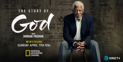 Morgan Freeman in The Story of God