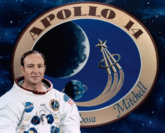 Edgar Mitchell (Photo: NASA)