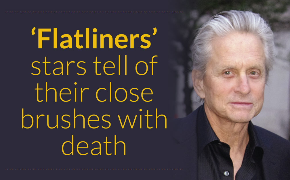 'Flatliners' stars tell of their close brushes with death – Michael Douglas at  the 2012 Tribeca Film Festival (Photo: David Shankbone)