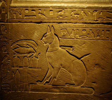 Ancient Egyptian Crown Prince Thutmose had this sarcophagus built for his beloved cat 